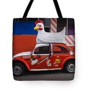 Cowboy Chicken Tote Bag