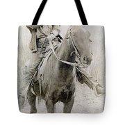 Cowboy Robber, C1900 Tote Bag