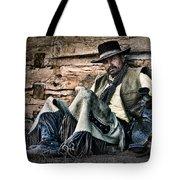 Cowboy Stare-down Tote Bag
