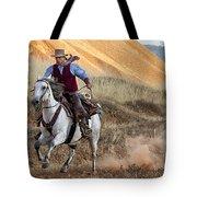 Cowboy Tom Tote Bag