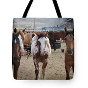 Cowboy Up Tote Bag