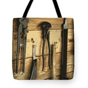 Cowboy's Tools Tote Bag