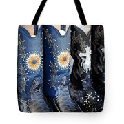 Cowgirl Boots Tote Bag