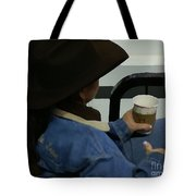 Cowgirl Rodeo Rest Tote Bag