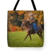 Cowgirl Tote Bag by Susan Candelario