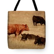 Cows Tote Bag by Methune Hively