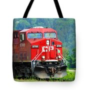 Cp Coal Train Tote Bag