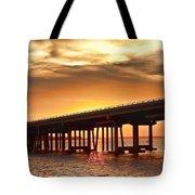 Crab Island Bridge Tote Bag