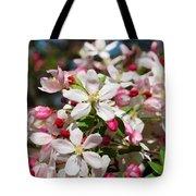 Crabapple Tree Flower Tote Bag