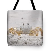 Crabby Eyes Tote Bag
