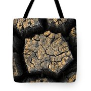Cracked, Dried Out Mud, Mokolodi Nature Tote Bag