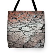 Cracked Earth Tote Bag