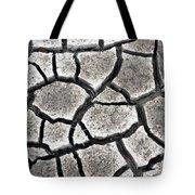 Cracked Mud Tote Bag