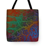 Cracks Tote Bag