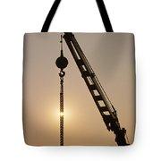 Crane At Rest Tote Bag