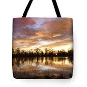 Crane Hollow Sunrise Boulder County Colorado Tote Bag