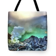 Crater Ijen Tote Bag