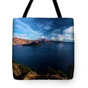 Crater Lake Minus Trees Tote Bag