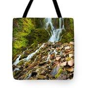Crater Lake Waterfall Tote Bag