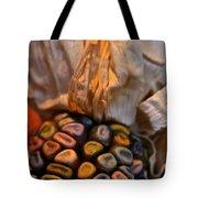 Crazee Corn Colors Tote Bag