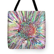 Crazy Daisy Colored Pencil Photoart Tote Bag