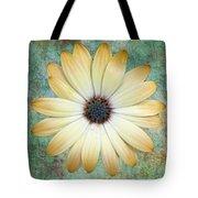Cream Coloured Daisy Tote Bag