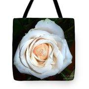 Creamy Rose Iv Tote Bag