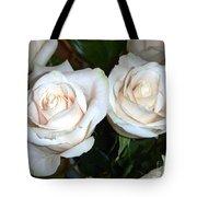 Creamy Roses I Tote Bag