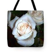 Creamy Roses IIi Tote Bag
