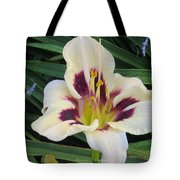 Creamy White Lily Tote Bag