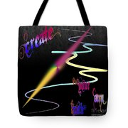 Create Your Own Path Verbally II Tote Bag