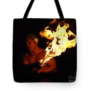 Creating With Fire Tote Bag