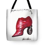 Creativity Shoe Tote Bag