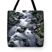 Creek Flow Panel 3 Tote Bag