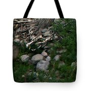 Creek Flow Panel 4 Tote Bag