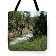 Creek Glen Alpine Creek Tote Bag