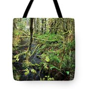 Creek In The Rain Forest Tote Bag
