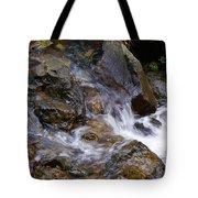 Creek Scene On Mt Tamalpais Tote Bag