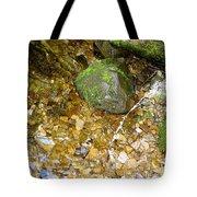 Creek Stones Tote Bag