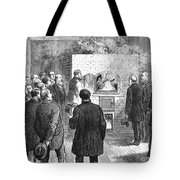 Cremation, 1876 Tote Bag