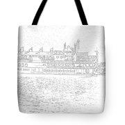 Creole Queen Sketch Tote Bag