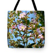 Crepe Mertle In Bloom Tote Bag