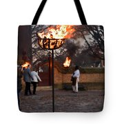 Cressets Light The Way Tote Bag