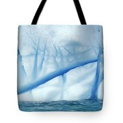 Crevasses Created By The Melting Tote Bag