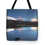 Crianlarich Sunset Tote Bag