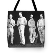 Cricket Players, 1889 Tote Bag