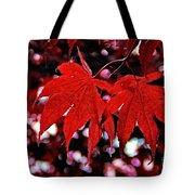 Crimson Beauty Tote Bag