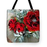 Crimson Desire Tote Bag