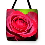 Crimson Red Rose Tote Bag by Karon Melillo DeVega