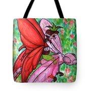 Crimson Wings Tote Bag
